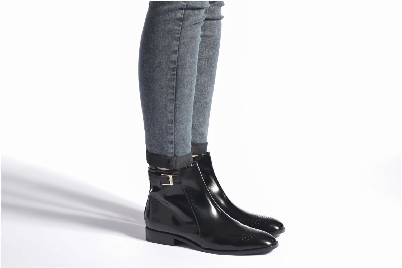 Bottines et boots Anaki Bérénice Noir vue bas / vue portée sac