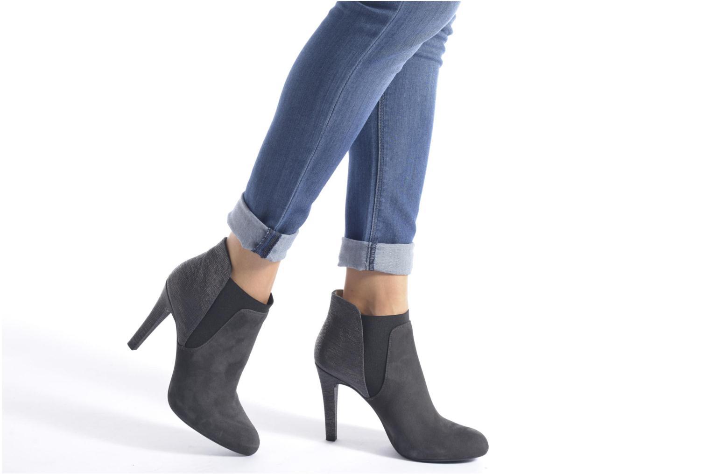 Bottines et boots Unisa Peman Noir vue bas / vue portée sac