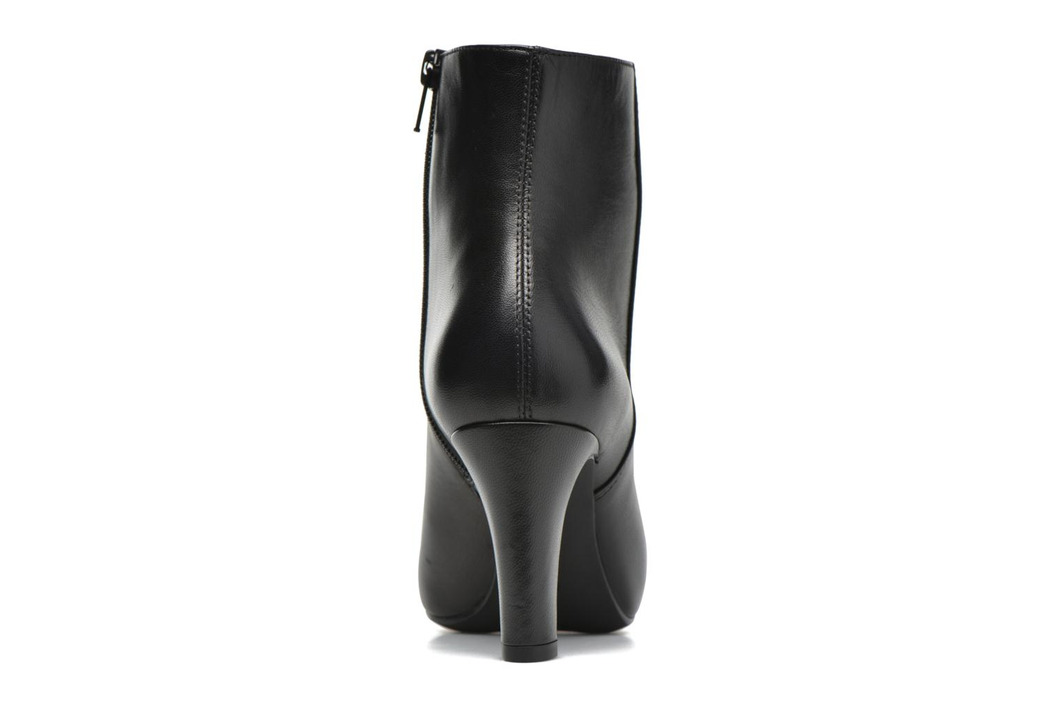 Ankle boots Unisa Niza Black view from the right