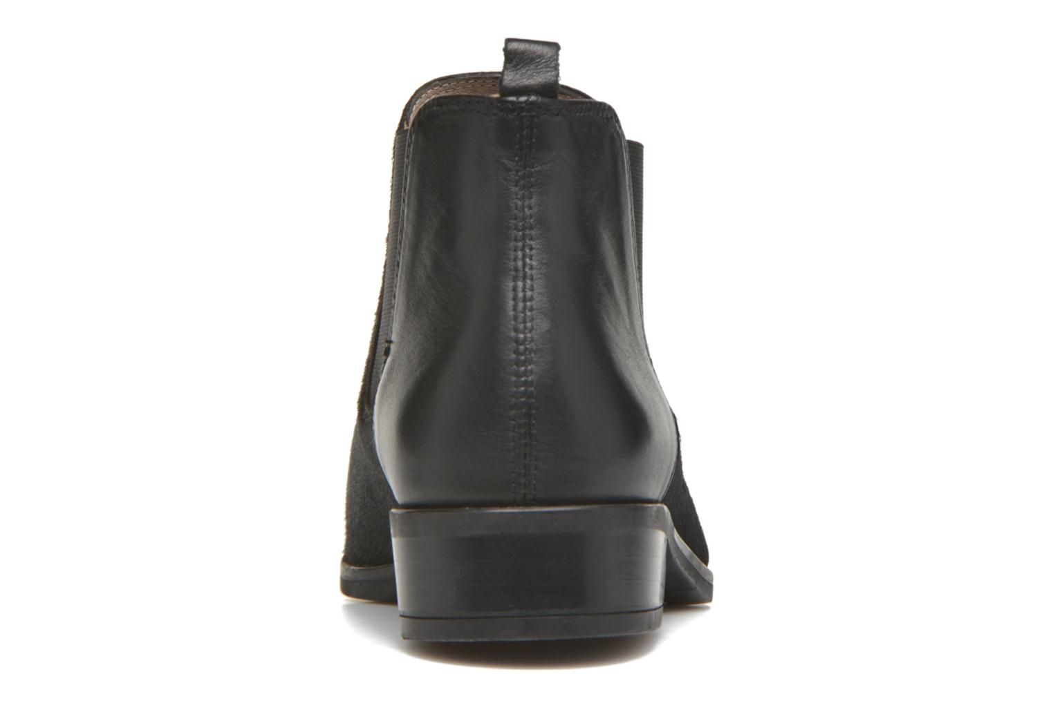 Ankle boots Unisa Baiso Black view from the right