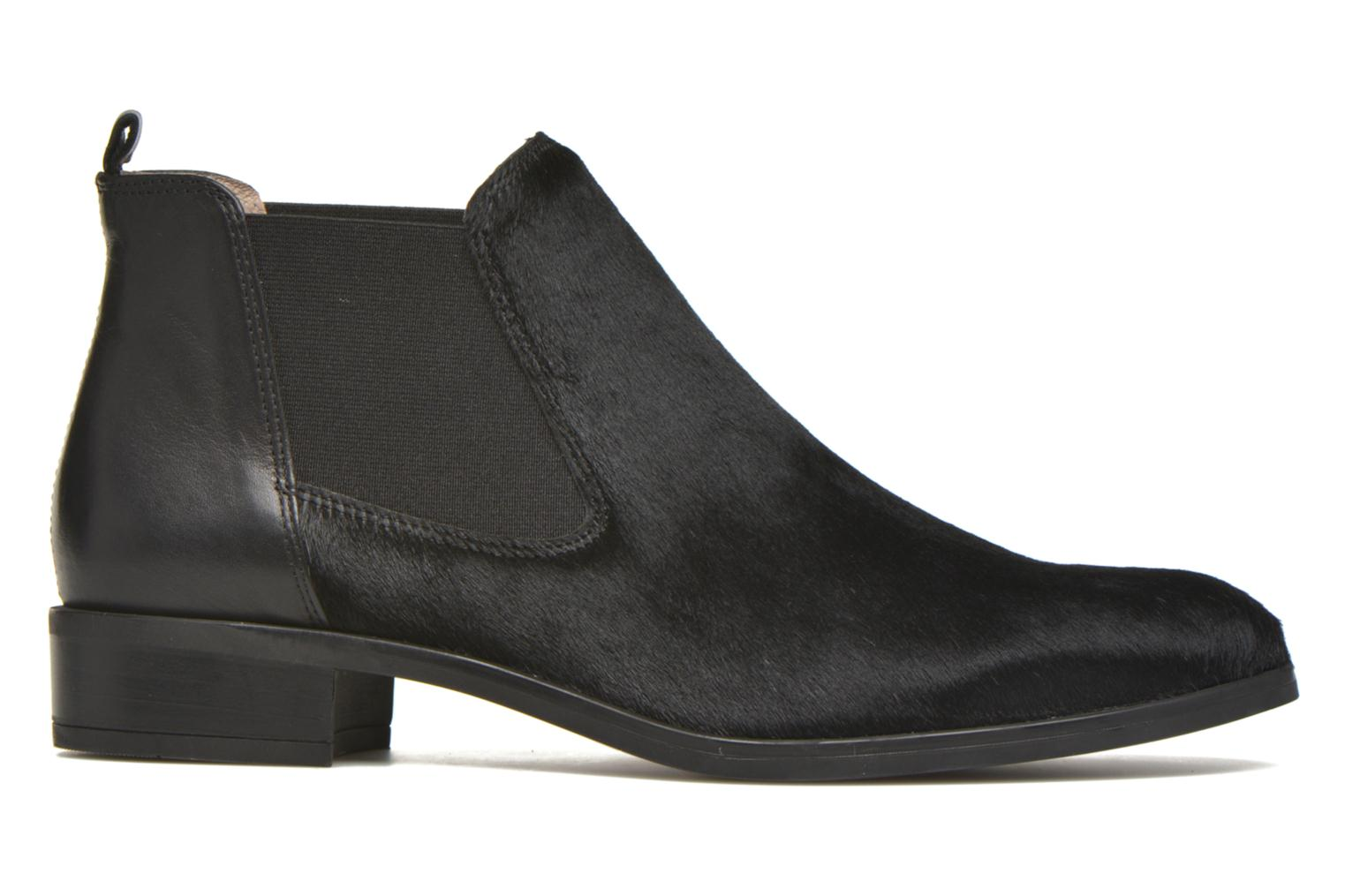 Ankle boots Unisa Baiso Black back view