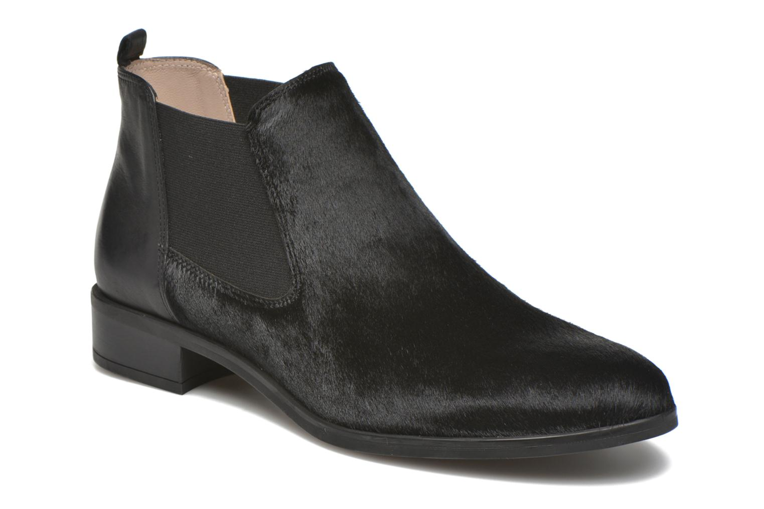 Ankle boots Unisa Baiso Black detailed view/ Pair view
