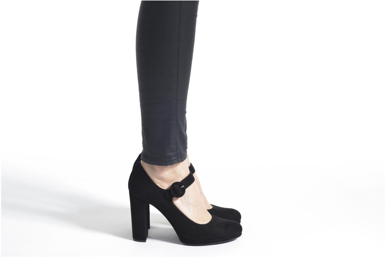 Zapatos de tacón Unisa Pacos Negro vista de abajo
