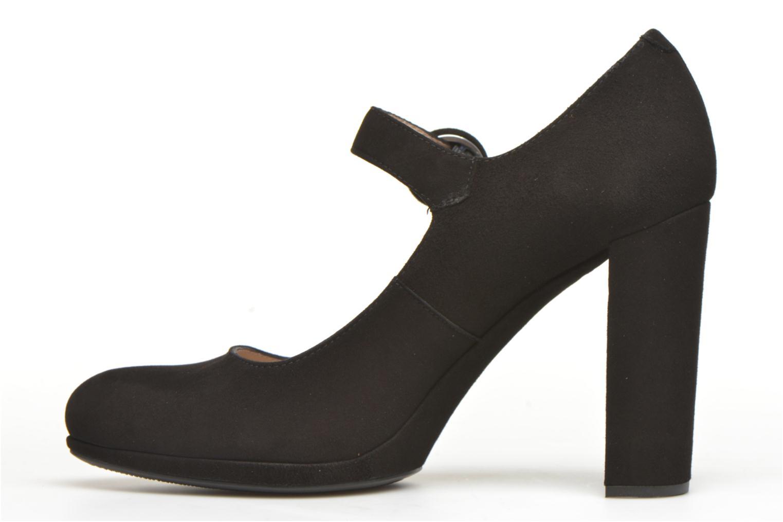 Zapatos de tacón Unisa Pacos Negro vista de frente