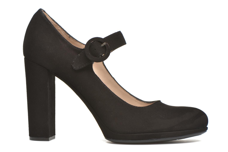 Zapatos de tacón Unisa Pacos Negro vistra trasera