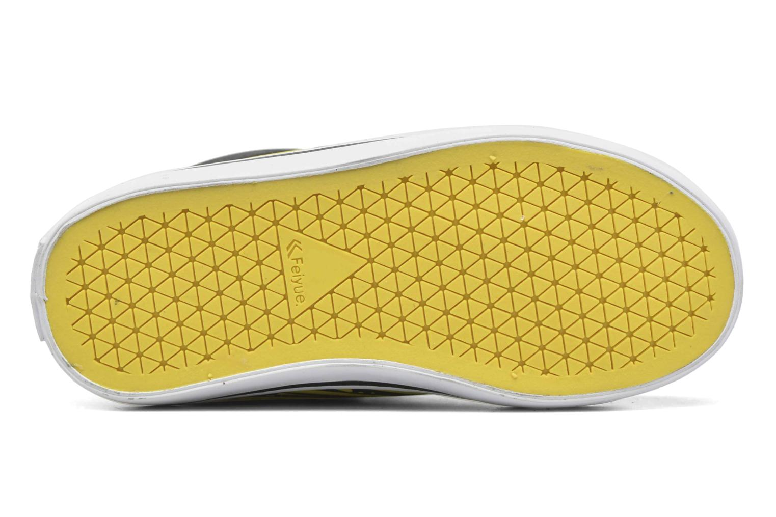 Trainers Feiyue Delta Mid Peanuts Yellow view from above