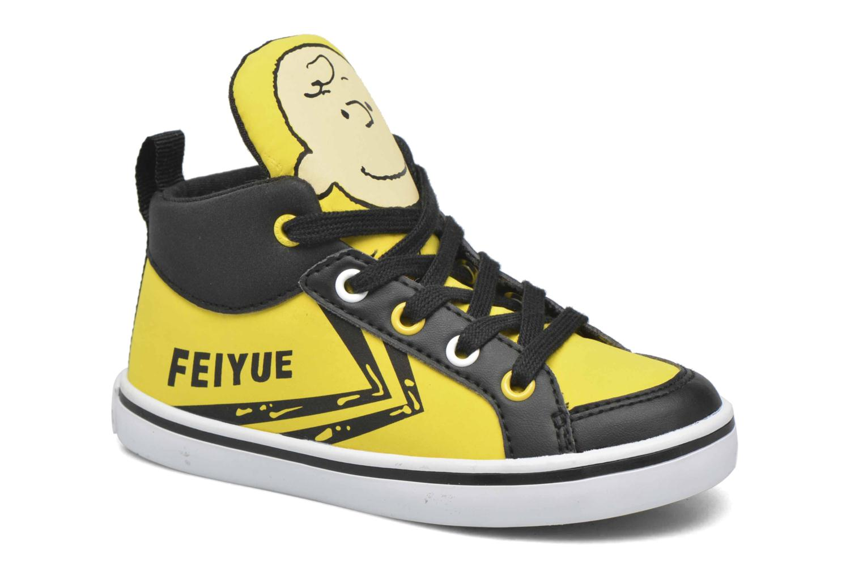 Sneaker Feiyue Delta Mid Peanuts gelb detaillierte ansicht/modell