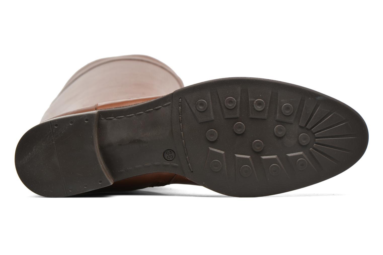 Stiefel Made by SARENZA Boots Camp #15 braun ansicht von oben
