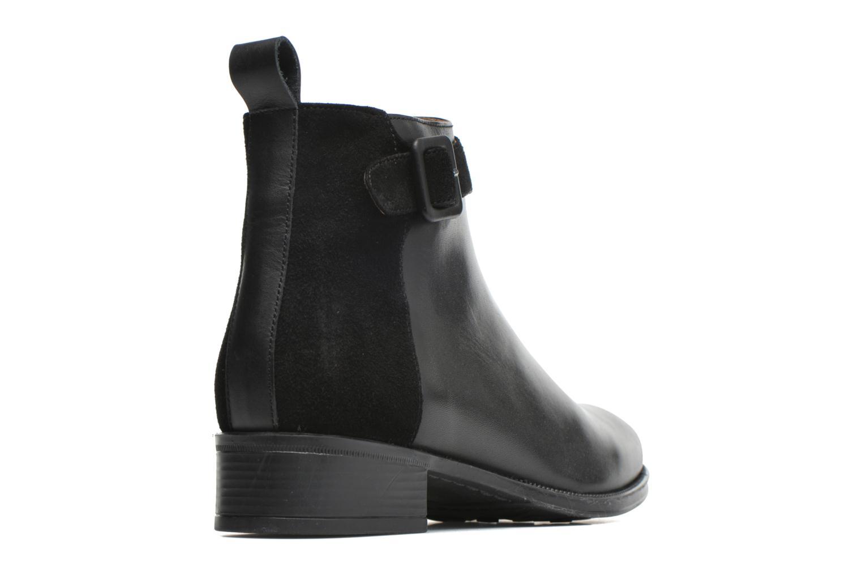 Bottines et boots Made by SARENZA West Mister #11 Noir vue face