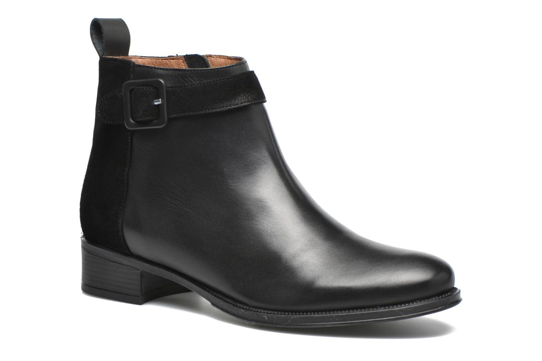 Bottines et boots Made by SARENZA West Mister #11 Noir vue droite