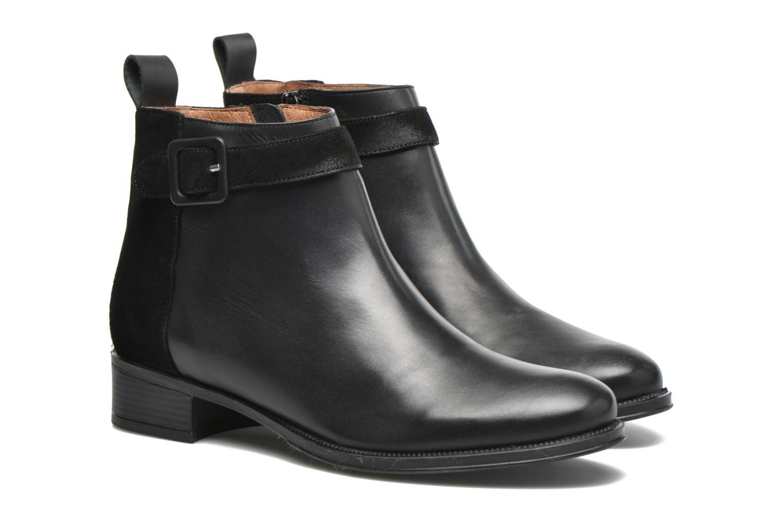 Bottines et boots Made by SARENZA West Mister #11 Noir vue derrière