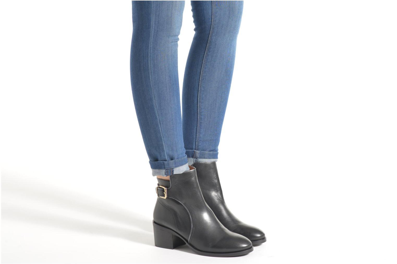Bottines et boots Made by SARENZA See Ya Topanga #3 Noir vue bas / vue portée sac