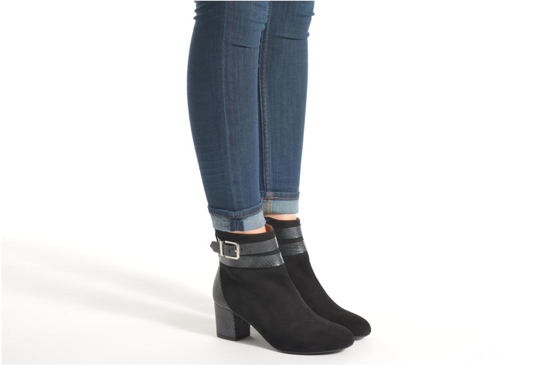 Stiefeletten & Boots Made by SARENZA See Ya Topanga #11 schwarz ansicht von unten / tasche getragen