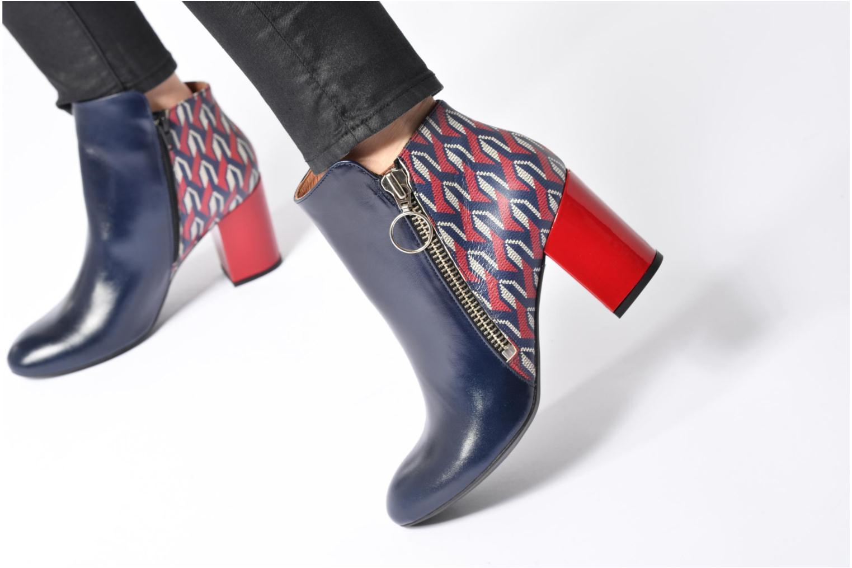 Stiefeletten & Boots Made by SARENZA Winter Ski #1 blau ansicht von unten / tasche getragen