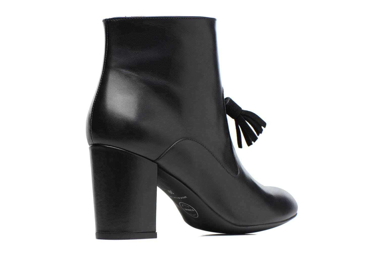 Ankle boots Made by SARENZA Winter Freak #5 Black front view