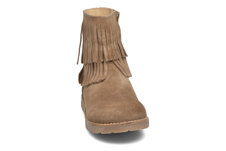 Bottines et boots Bopy Haro Marron vue portées chaussures
