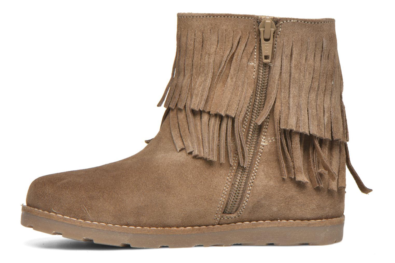 Bottines et boots Bopy Haro Marron vue face