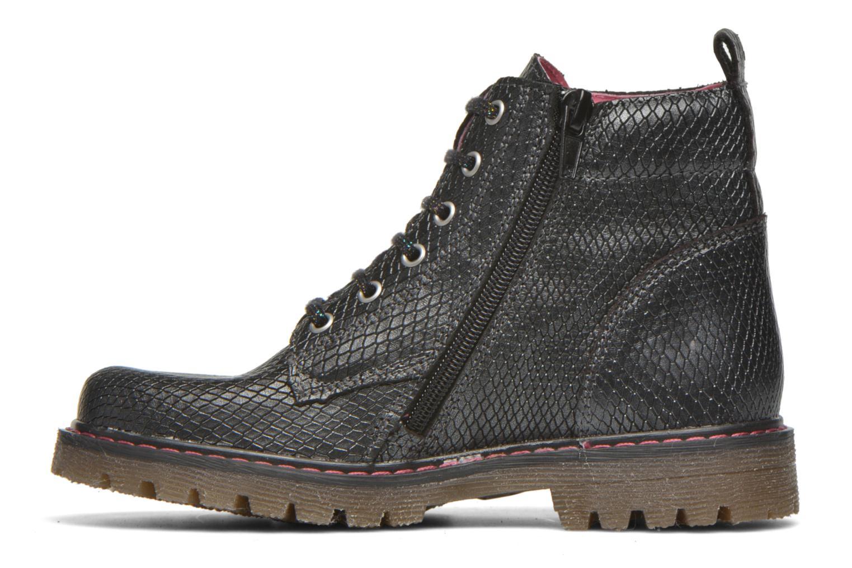 Boots en enkellaarsjes Bopy Saboa Zwart voorkant