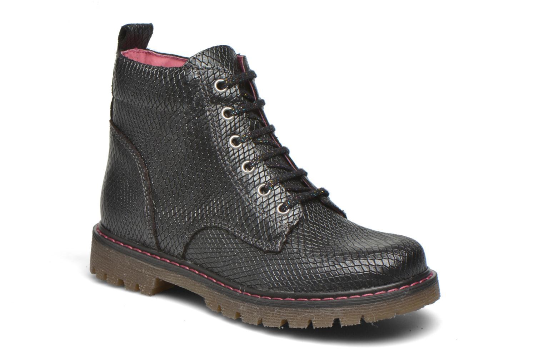 Boots en enkellaarsjes Bopy Saboa Zwart detail