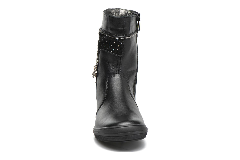 Bottes Bopy Saraba Noir vue portées chaussures