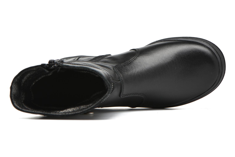 Stiefel Bopy Saraba schwarz ansicht von links