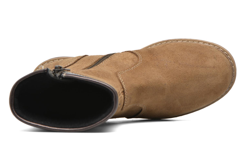 Stiefel Bopy Scala braun ansicht von links