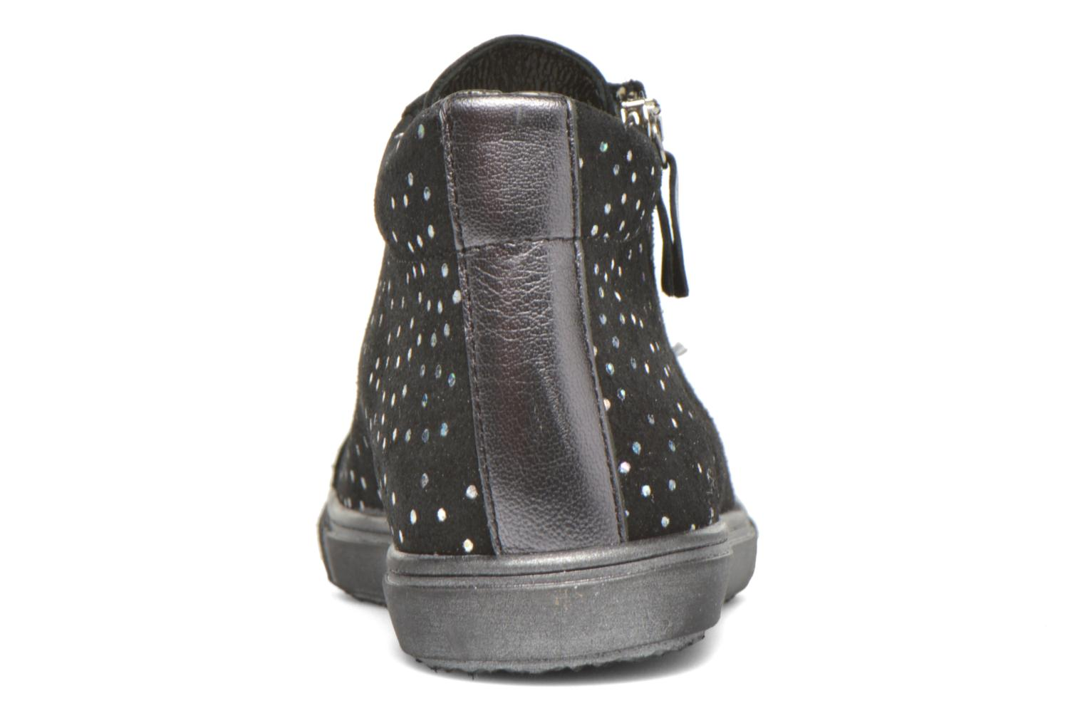 Trainers Bopy Sulfate Black view from the right