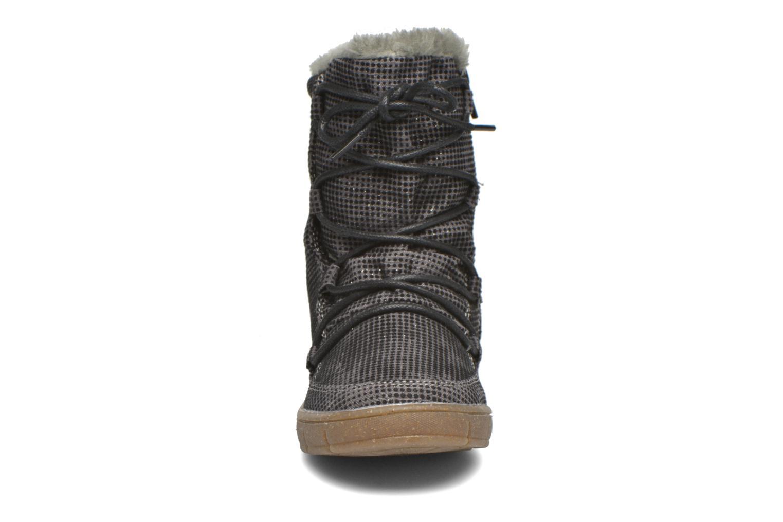 Bottes Bopy Tiarel Gris vue portées chaussures