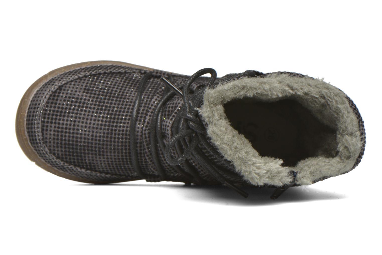 Botas Bopy Tiarel Gris vista lateral izquierda