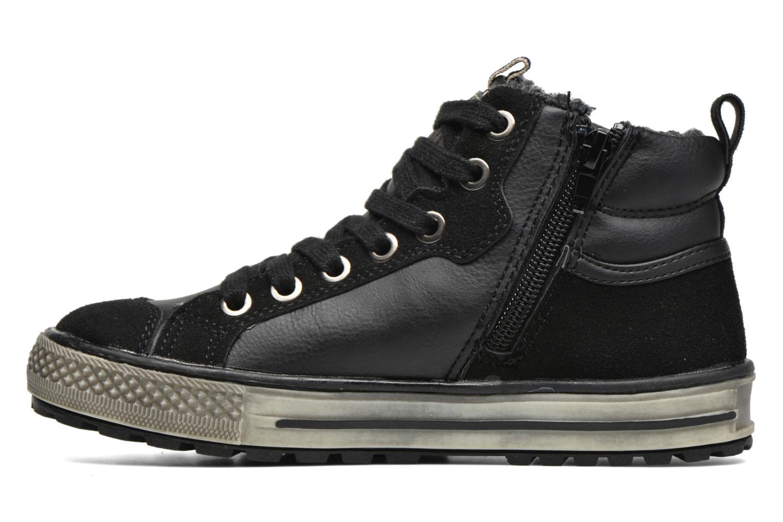 Sneakers Bopy Tissaro Nero immagine frontale