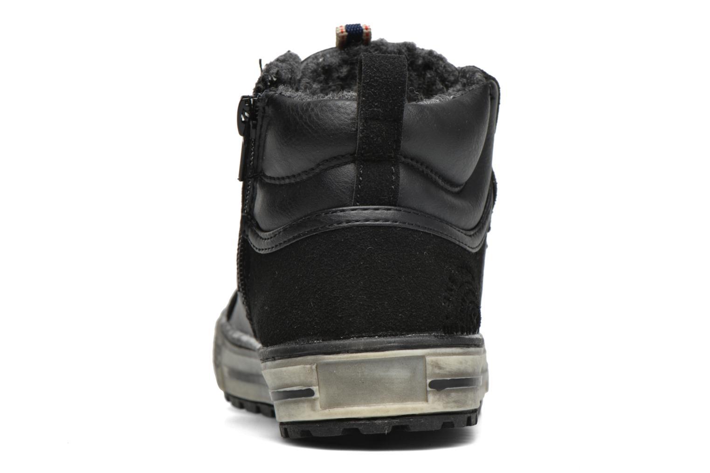 Sneaker Bopy Tissaro schwarz ansicht von rechts