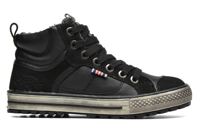 Sneaker Bopy Tissaro schwarz ansicht von hinten