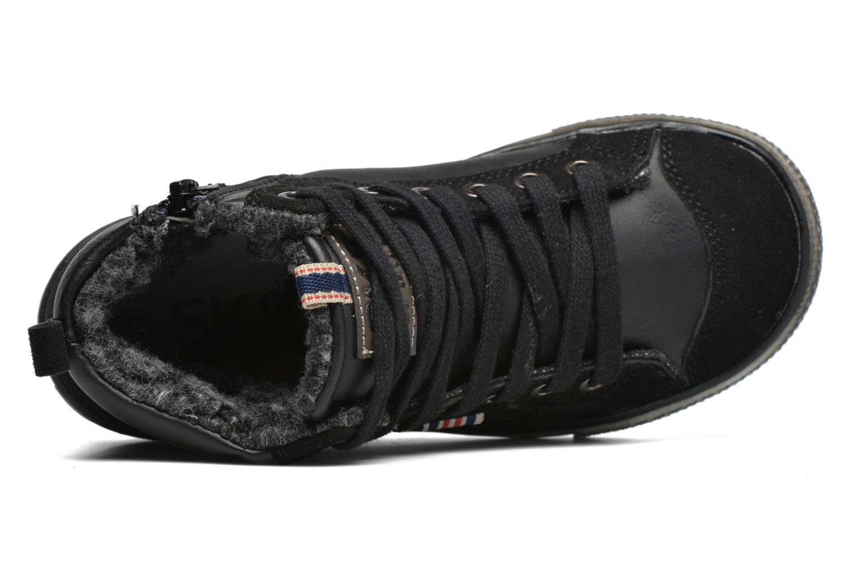 Sneaker Bopy Tissaro schwarz ansicht von links