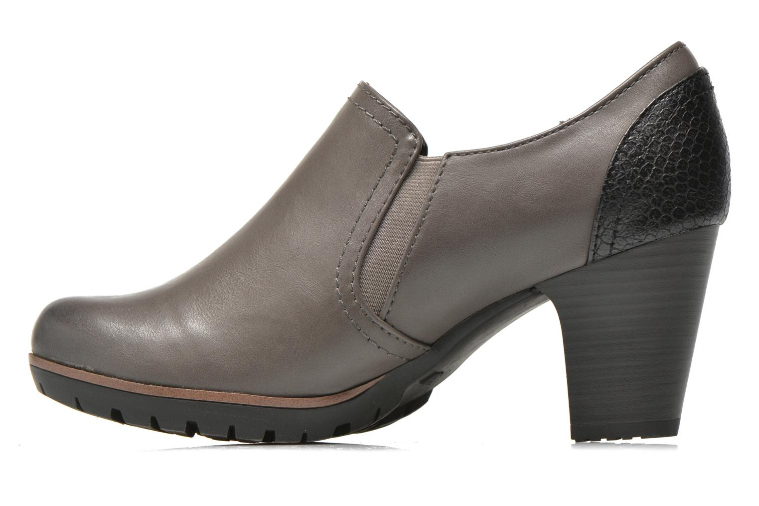Ankle boots Jana shoes Campanule Grey front view