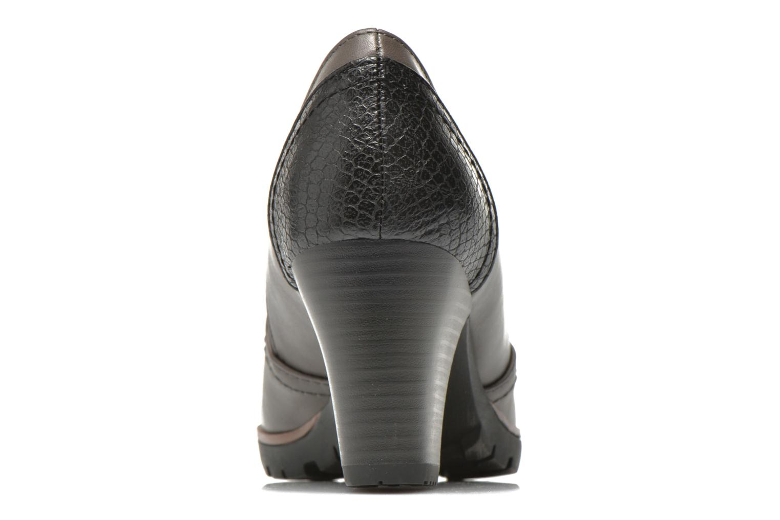 Ankle boots Jana shoes Campanule Grey view from the right