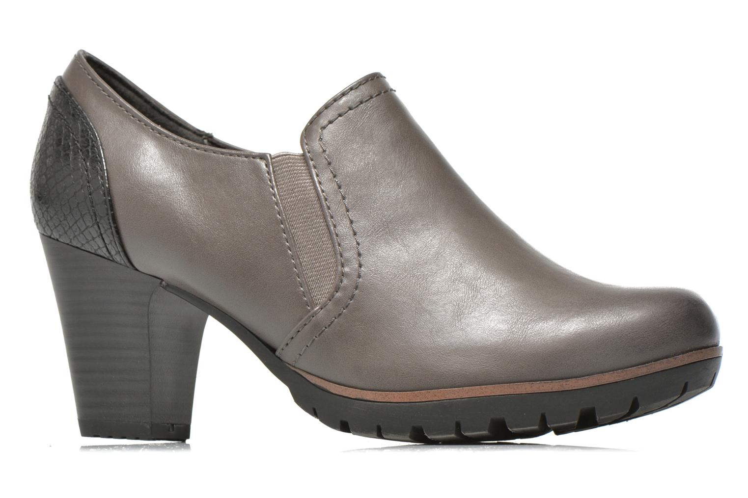 Ankle boots Jana shoes Campanule Grey back view