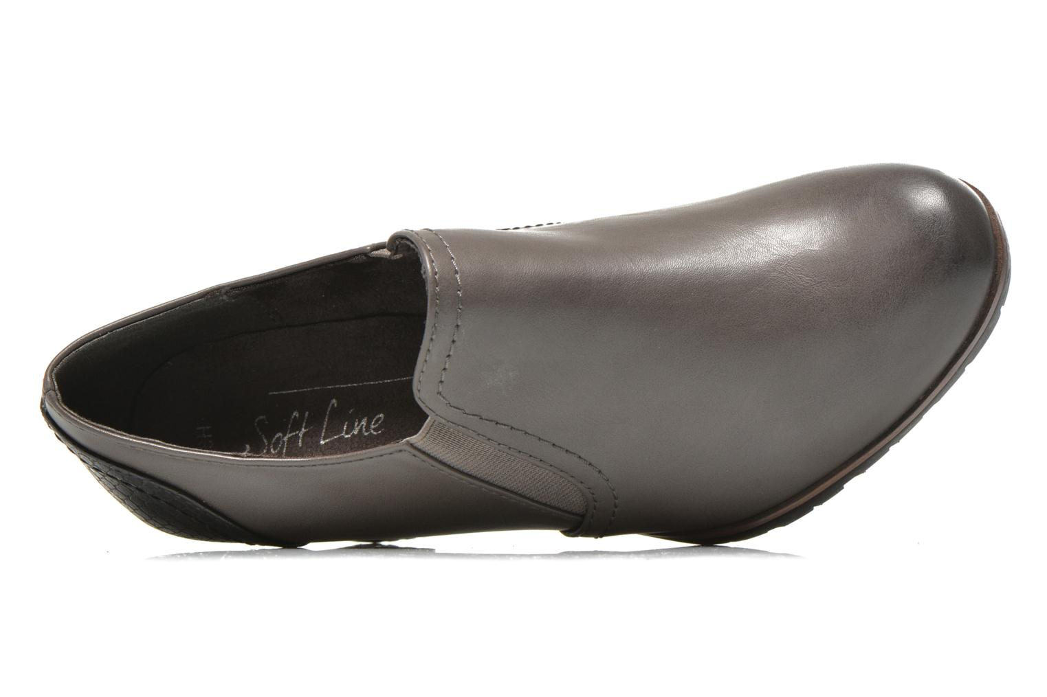 Ankle boots Jana shoes Campanule Grey view from the left
