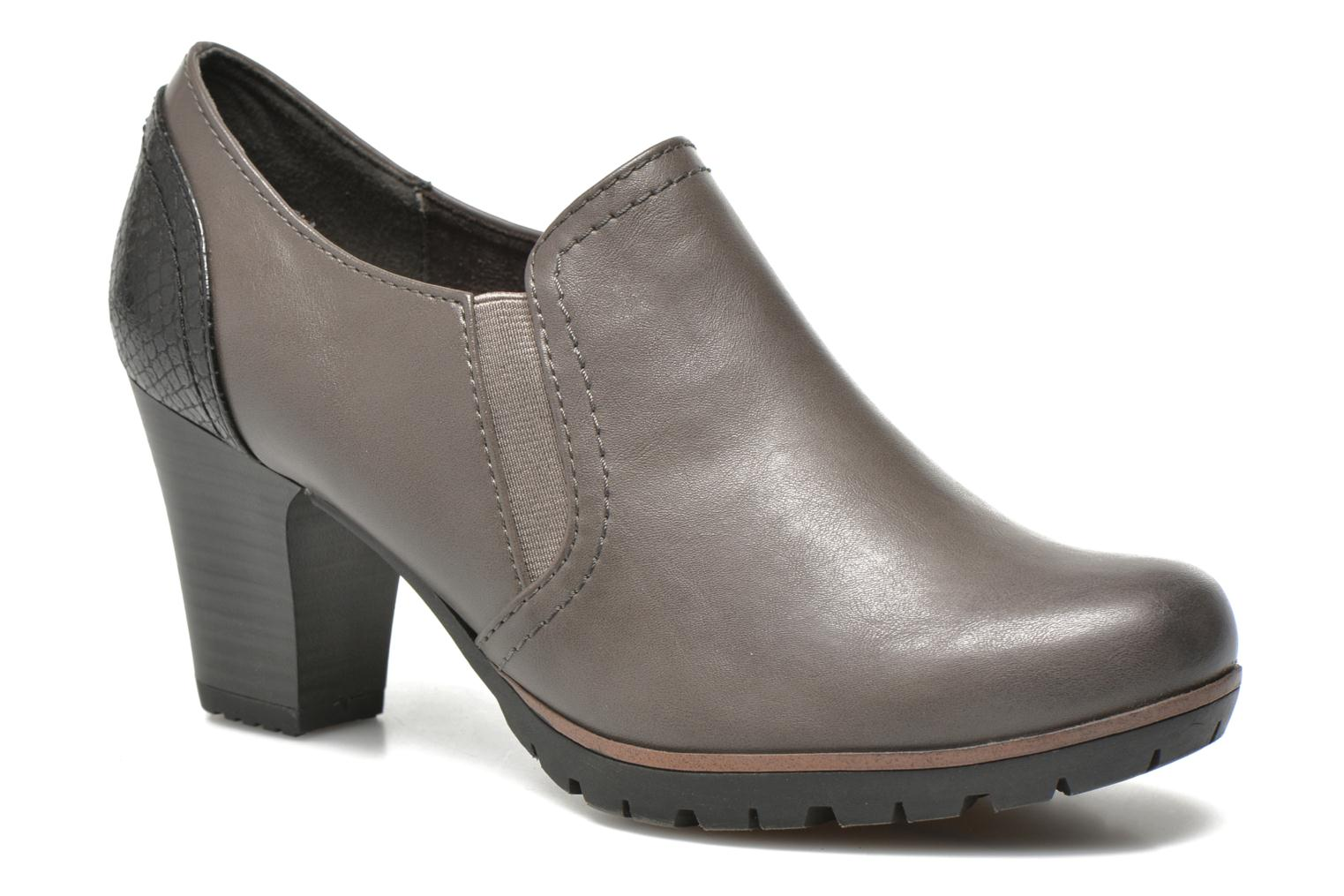 Ankle boots Jana shoes Campanule Grey detailed view/ Pair view