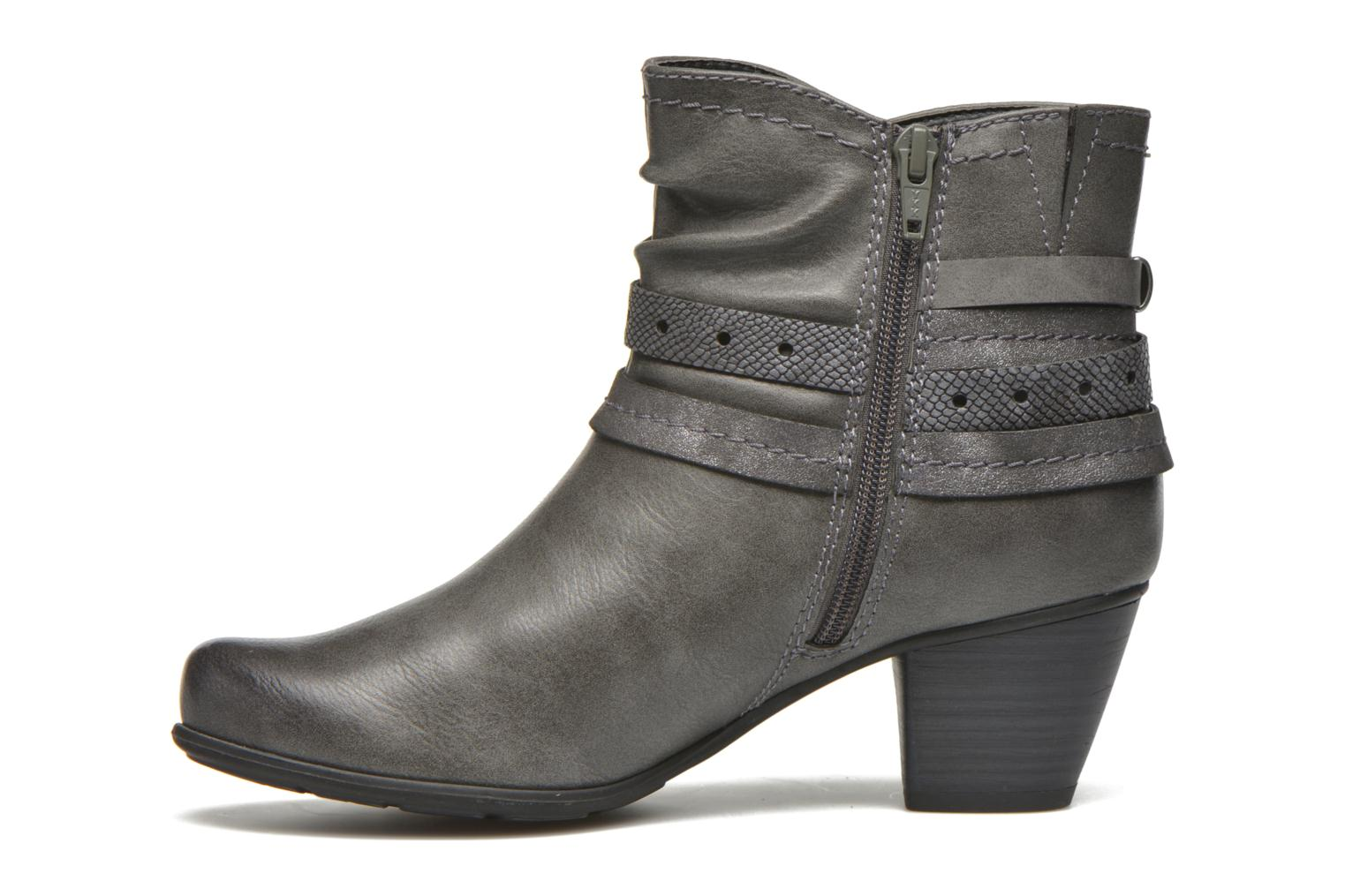 Bottines et boots Jana shoes Cypres Gris vue face