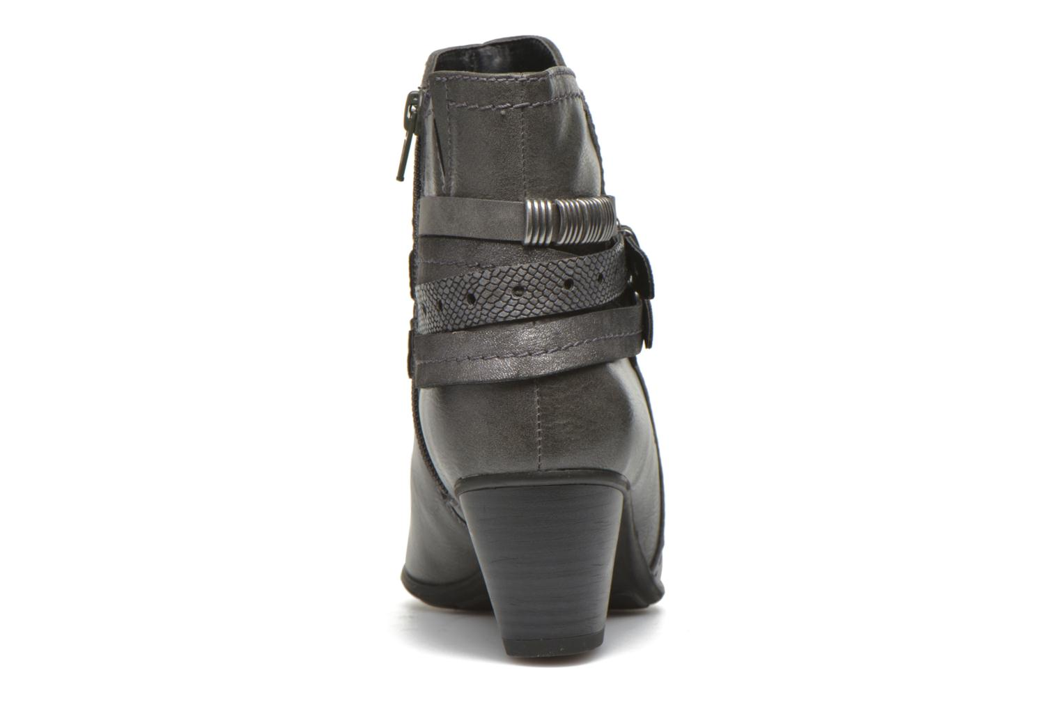 Botines  Jana shoes Cypres Gris vista lateral derecha