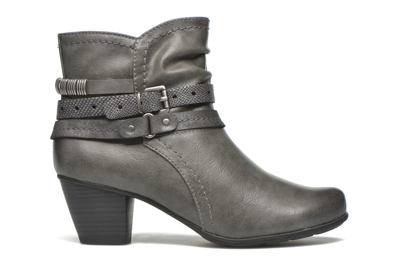 Stiefeletten & Boots Jana shoes Cypres grau ansicht von hinten