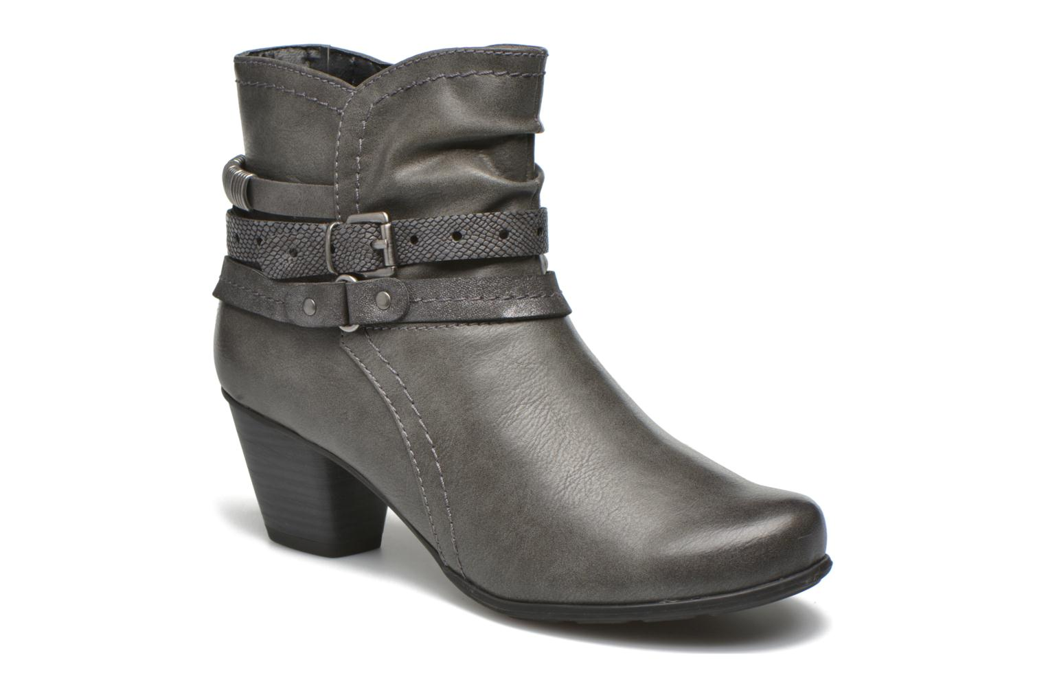 Bottines et boots Jana shoes Cypres Gris vue détail/paire