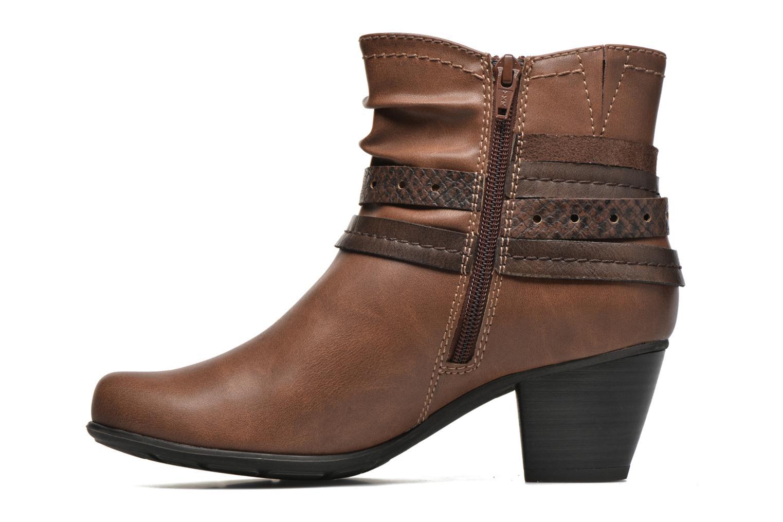 Stiefeletten & Boots Jana shoes Cypres braun ansicht von vorne