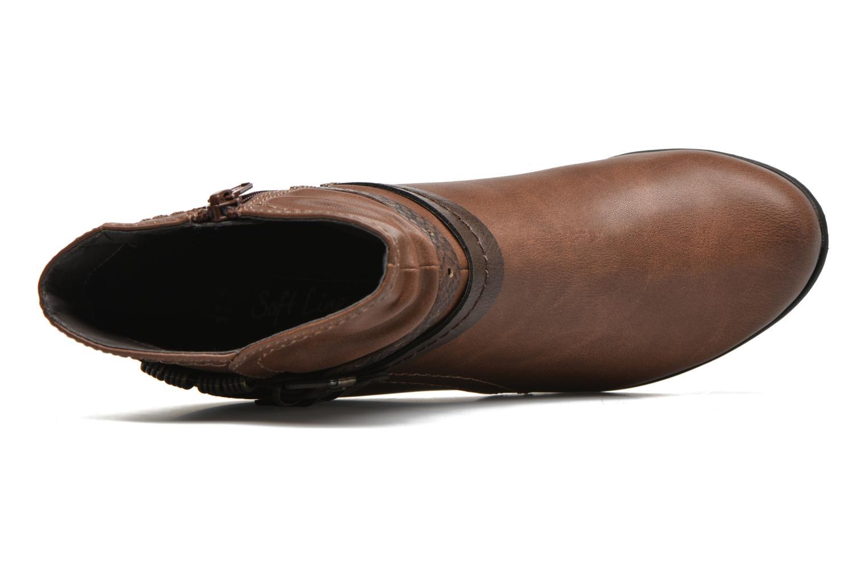 Stiefeletten & Boots Jana shoes Cypres braun ansicht von links