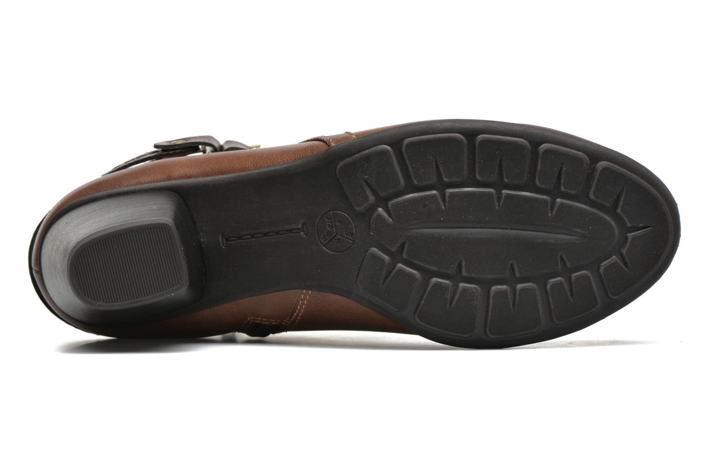 Stiefeletten & Boots Jana shoes Cypres braun ansicht von oben