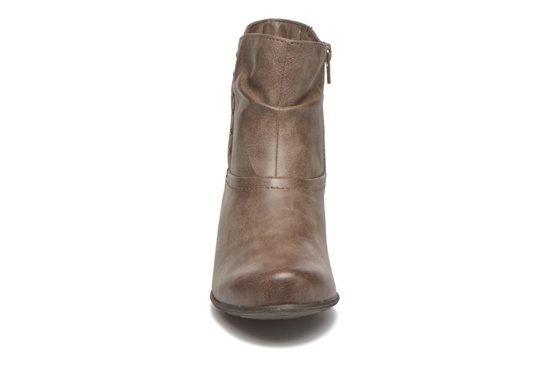 Bottines et boots Jana shoes Gentiane Beige vue portées chaussures