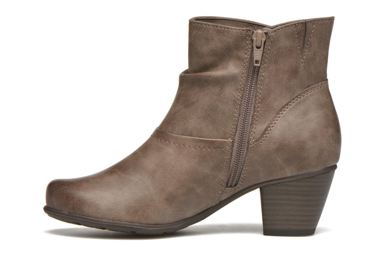 Bottines et boots Jana shoes Gentiane Beige vue face