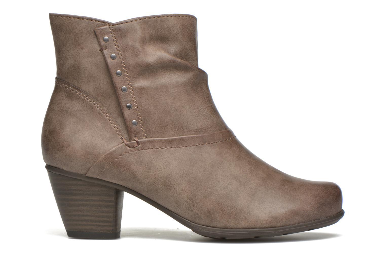 Bottines et boots Jana shoes Gentiane Beige vue derrière