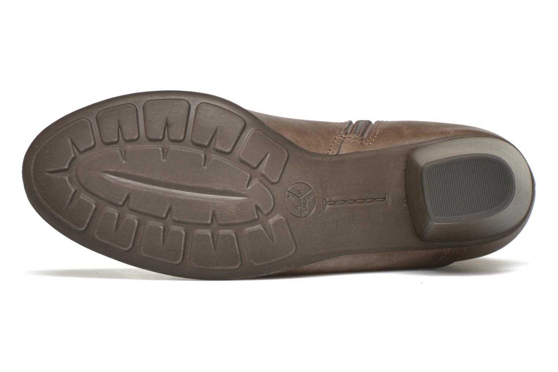 Bottines et boots Jana shoes Gentiane Beige vue haut