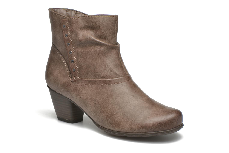 Grandes descuentos últimos zapatos Jana shoes Gentiane (Beige) - Botines  Descuento